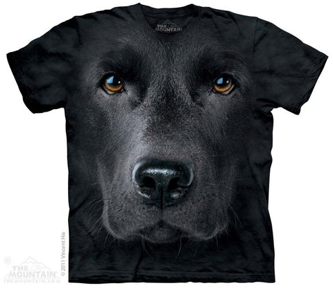 3255 Black Lab Face