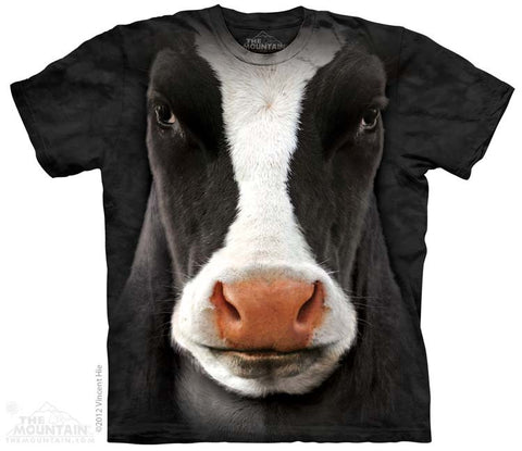 3347 Black Cow Face