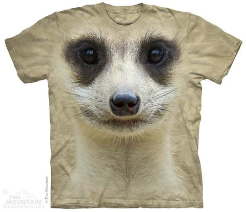 153443 Meerkat Face Youth T-Shirt
