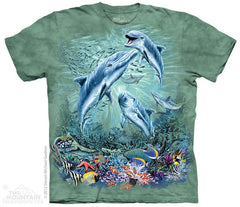 153490 Find 12 Dolphins Youth T-Shirt