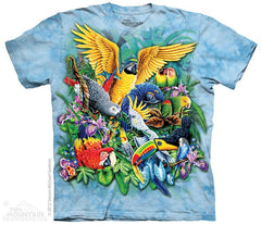 153508 Birds Of The Tropics Youth T-Shirt