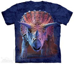3562 Charging Triceratops Youth T-Shirt