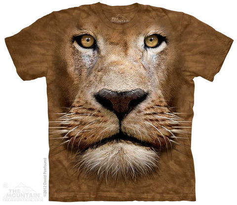 3598 Lion Face Youth T-Shirt