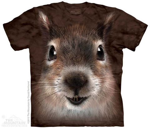 153734 Squirrel Face Youth T-Shirt