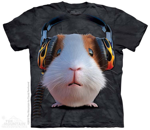 3784 DJ Guinea Pig Youth T-Shirt