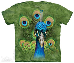 153809 Vibrant Peacock Youth T-Shirt
