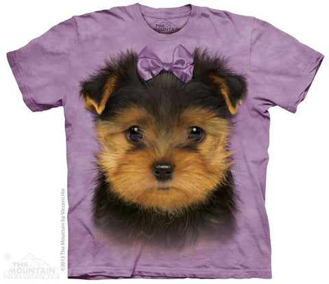 3863 Yorkshire Terrier Puppy Youth T-Shirt