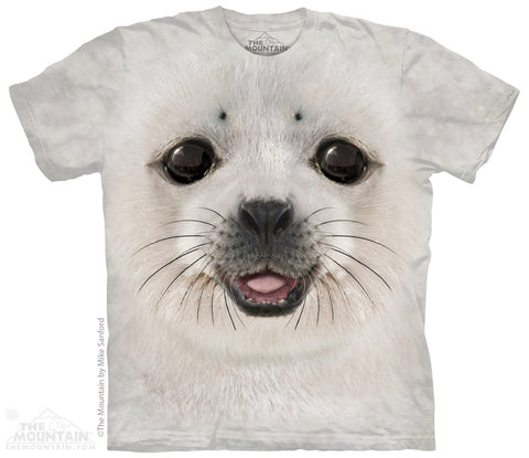 3946 Big Face Baby Seal Youth T-Shirt