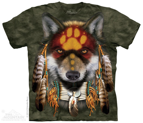 4022 Native Wolf Spirit