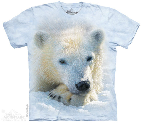 4266 Polar Bear Cub Youth T-Shirt