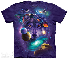 154308 Wolf of the Cosmos Youth T-Shirt
