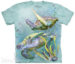 4323 SEA TURTLES SWIM