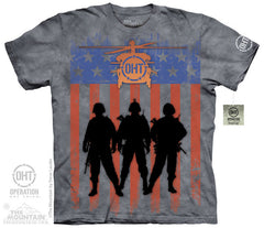 The Mountain Wholesale - 4820 Three Troops T-Shirt