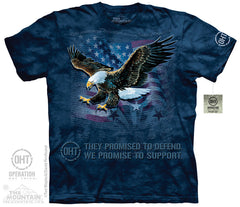 The Mountain Wholesale - 4822 Eagle Defend T-Shirt