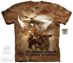 The Mountain Wholesale - 4823 Combat Soldiers T-Shirt