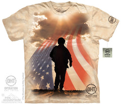 The Mountain Wholesale - 4824 Soldier Silhouette T-Shirt
