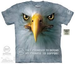 The Mountain Wholesale - 4825 Support Eagle T-Shirt