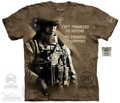 The Mountain Wholesale - 4826 Modern Soldier T-Shirt
