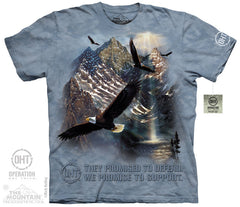 The Mountain Wholesale - 4829 Mountaintop Freedom T-Shirt
