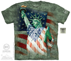 The Mountain Wholesale - 4830 Defending Liberty T-Shirt