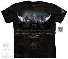 The Mountain Wholesale - 4833 Winged Soldier T-Shirt