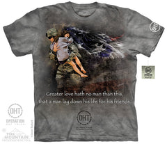 The Mountain Wholesale - 4834 Heroic Soldier T-Shirt