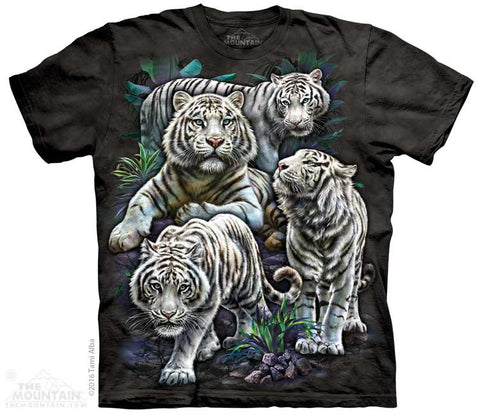 4871 Majestic White Tigers