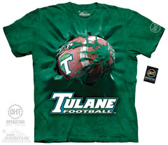 TU 5406 TULANE FOOTBALL BREAKTHRU