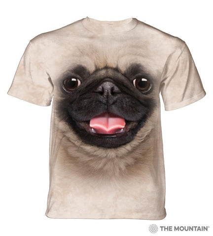 5797 Big Face Pug Puppy T-Shirt