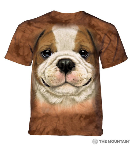 5798 Big Face Bulldog Puppy T-Shirt