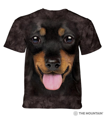 5800 Big Face Dachshund Puppy T-Shirt