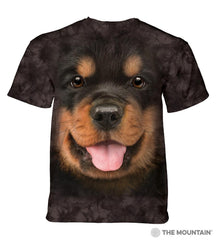 5805 Big Face Rottweiler Puppy T-Shirt
