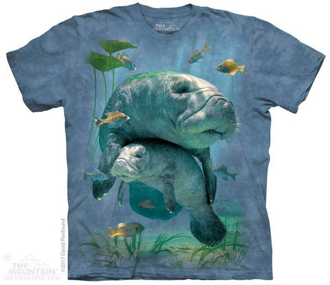 5903 Manatees Collage T-Shirt