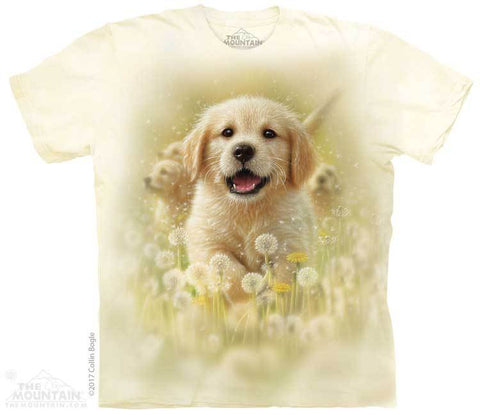 5933 Golden Puppy T-Shirt