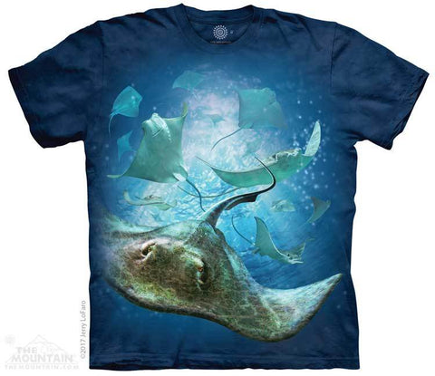 5969 School of Stingrays T-Shirt
