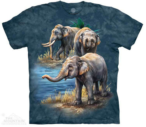 5979 Asian Elephants T-Shirt