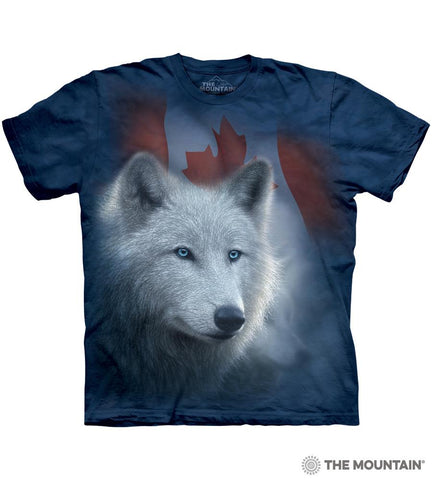 6122 Canadian White Wolf T-Shirt