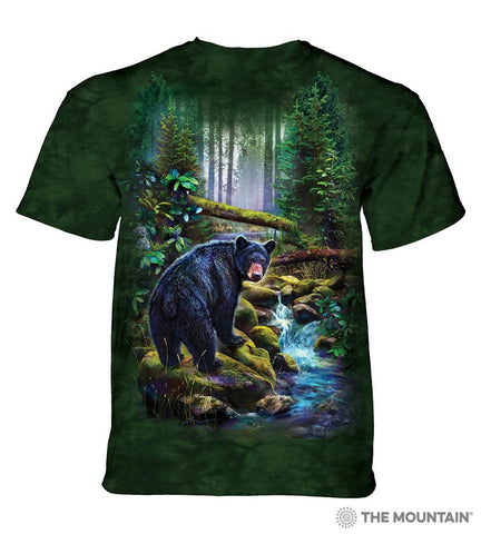6164 Black Bear Forest T-Shirt