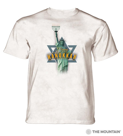 6182 Lady Liberty Hanukkah T-Shirt