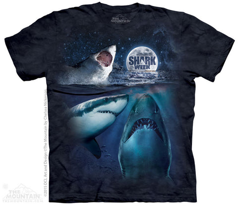 6708 Three Shark Week Moon