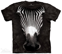 447041 Big Face Grevy's Zebra Youth T-Shirt