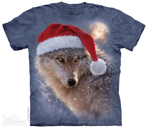 8621 Holiday Wolf