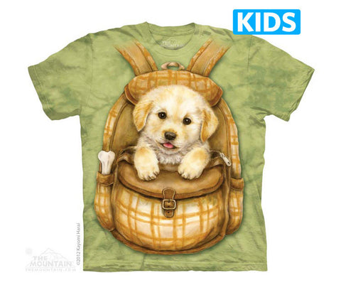3579 Puppy Backpack Youth T-Shirt