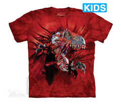 4864 Red Ripper Rex Youth T-Shirt