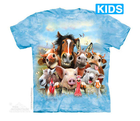 4981 Farm Selfie Youth T-Shirt