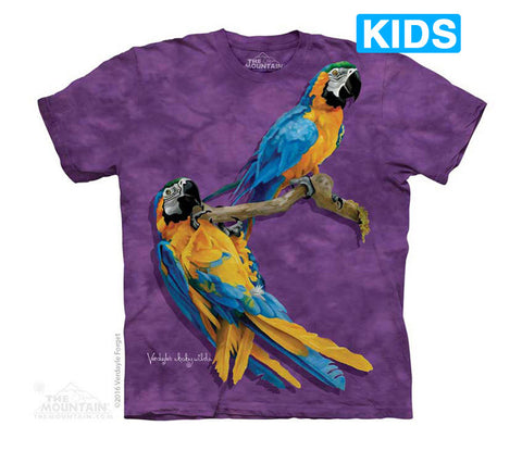 5752 Macaw Family Youth T-Shirt