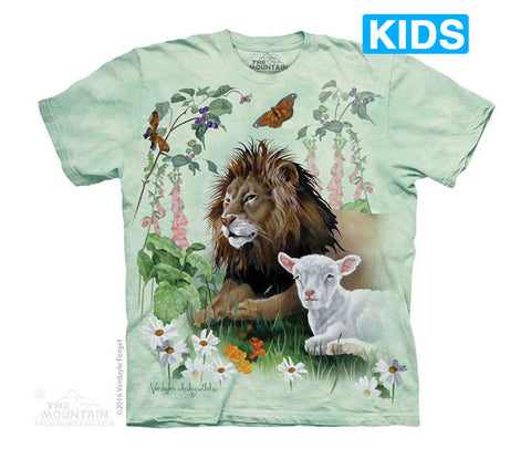 5754 The Lion and the Lamb Youth T-Shirt