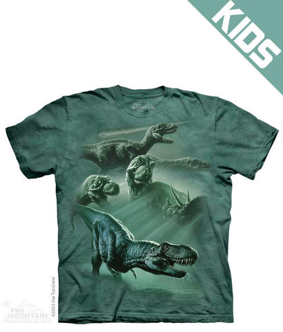 1347 Dinosaur Collage Youth T-Shirt