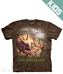 2291 I Dig Dinosaurs Youth T-Shirt