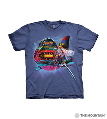 6492 Painted Shark Youth T-Shirt